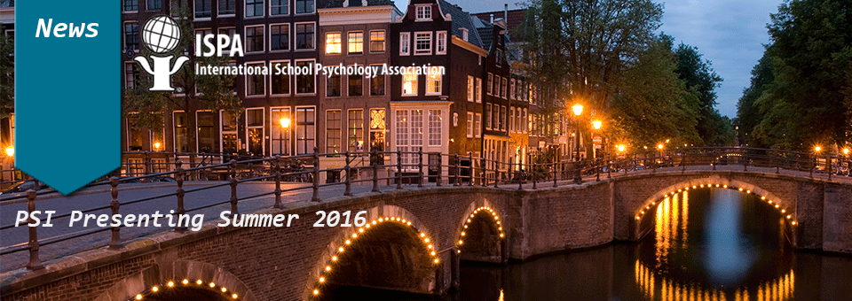 PSI to present in  Amsterdam on Suicide Prevention
