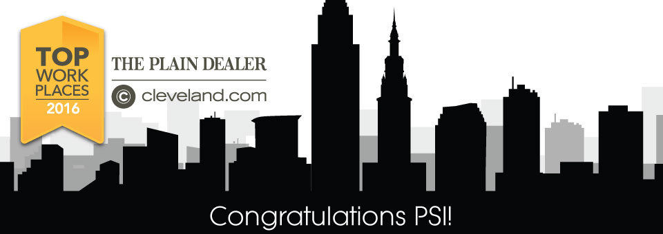 The Cleveland Plain Dealer names PSI one of Northeast Ohio's Top Workplaces