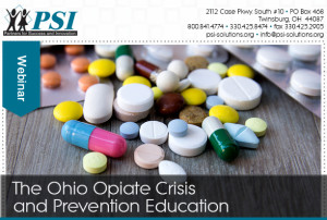 Free Webinar on Opiate Abuse